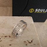 Gepersonaliseerde ring zilver
