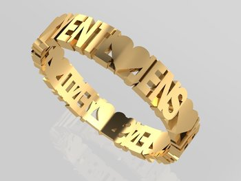 Capital Words & Symbols Gold 18CT