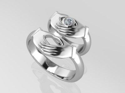 persoonlijke 3D geprinte ringen