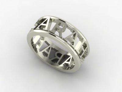 gepersonaliseerde ringen