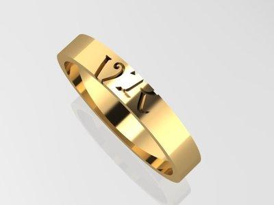 geperonaliseerde ringen
