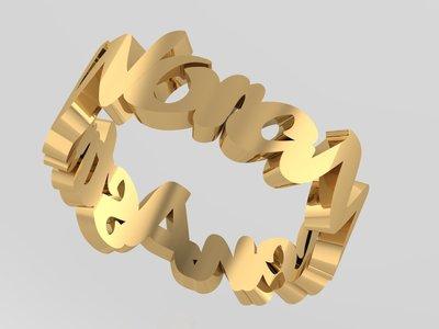 Soulz wave ring